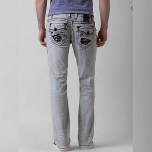 Rock Revival Penn Slim Straight jeans white - 31